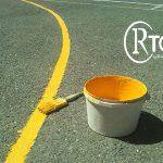 رنگ مخصوص خط کشی پارکینگ